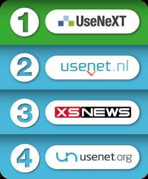 Usenet Anbieter Vergleichstabelle